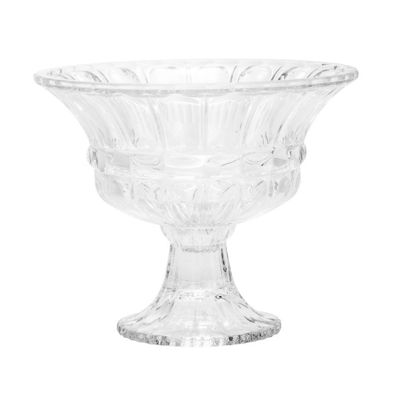 Fruteira De Cristal com pé Athena  - Wolff 3105348