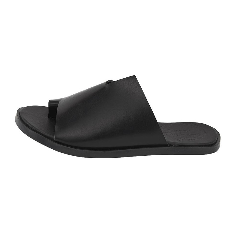 Sandalia De Piso Negra 020092