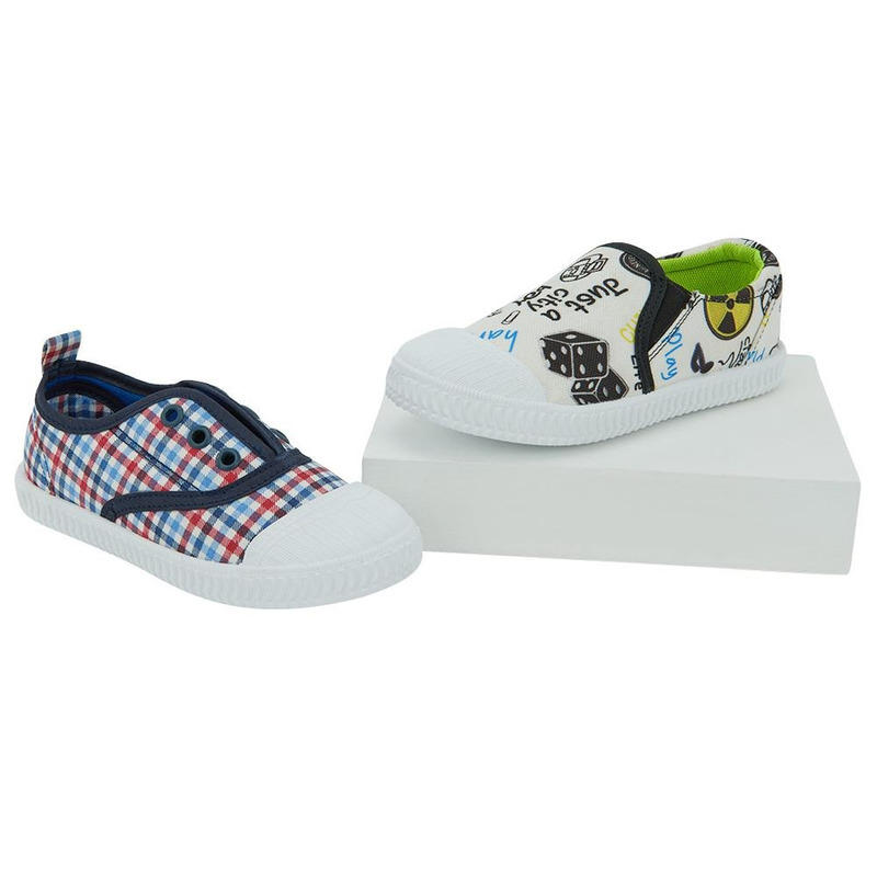 Combo Sneakers 2X1 Multicolor 014736