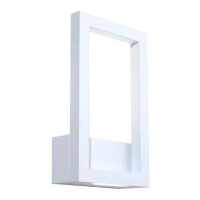 Aplique Led Rectangle Blanco 15w Deco Moderno Premium Gmg