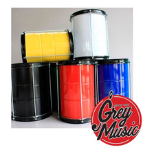 Repique Metálico Vsg Pintado De 8 Pintado De Colores