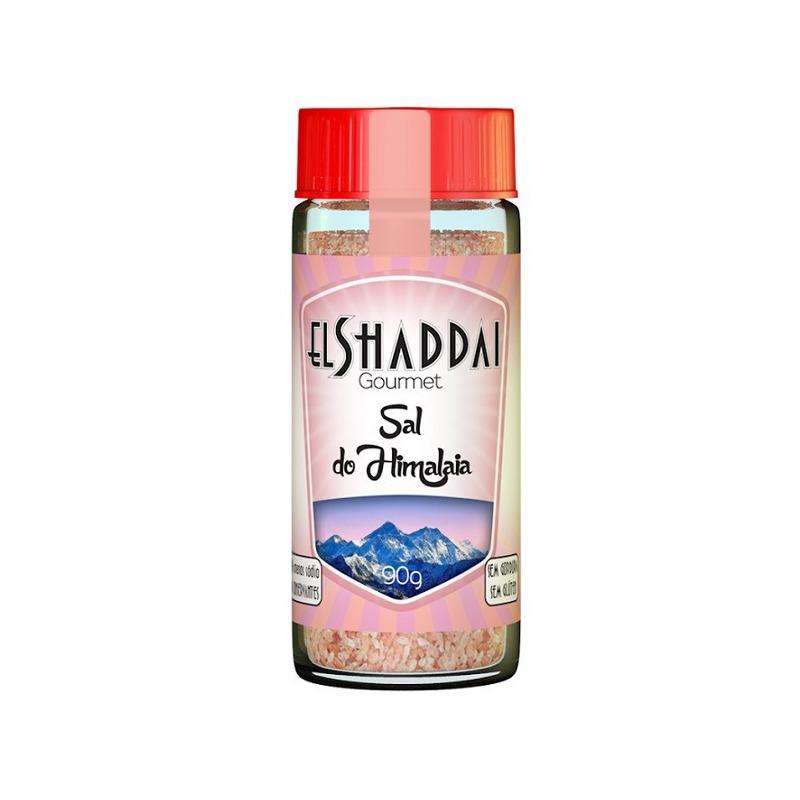 Sal Rosa do Himalaia Moido - 90g - El Shaddai Gourmet