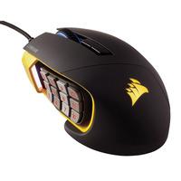Mouse para juegos Corsair Scimitar PRO RGB Amarillo