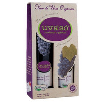 Suco de Uva Organico 100% Bordo (2x870ml) P/ Presente Uva'So