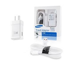 Cargador Pared Samsung Travel Adapter Carga Rapida Micro Usb