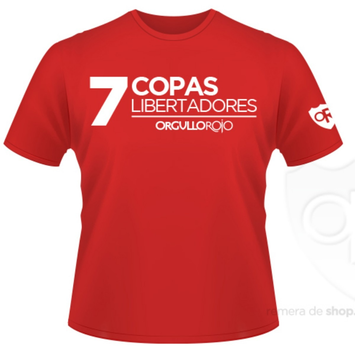 """Remeras Coperas """"7 L"""""""