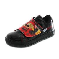 Sneakers Los Increíbles negros con correa T06030
