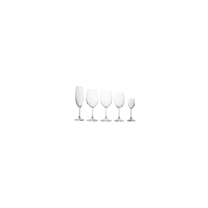 Jogo com 30 Taças Klara Cristal Bohemia - Lyor 4105506
