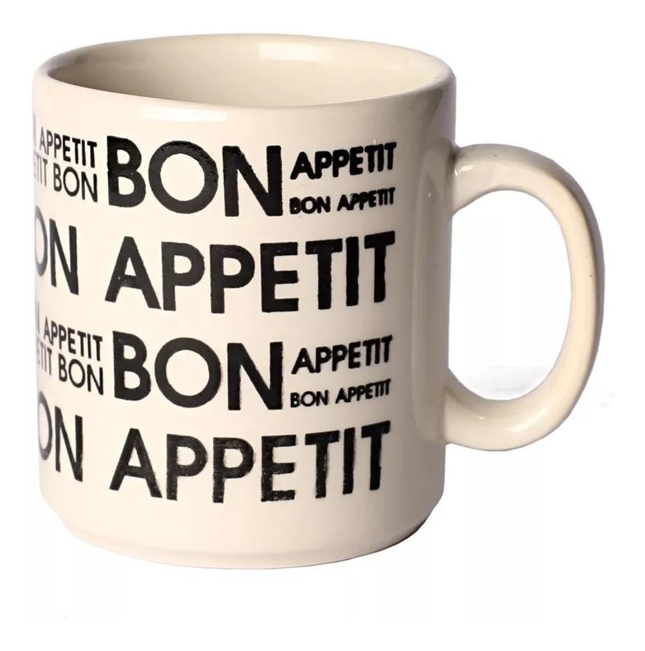 Juego Vajilla 24 Pzs Bon Appetit Biona Loza Platos Deco Taza