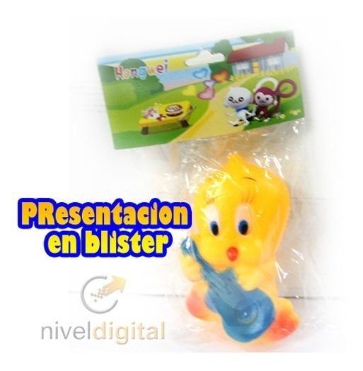 Muñeco Con Chifle Winnie Pooh Garfield Tweety-pvc Blister