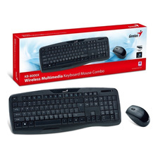 Kit Teclado Y Mouse Inalambrico Genius Kb 8000x