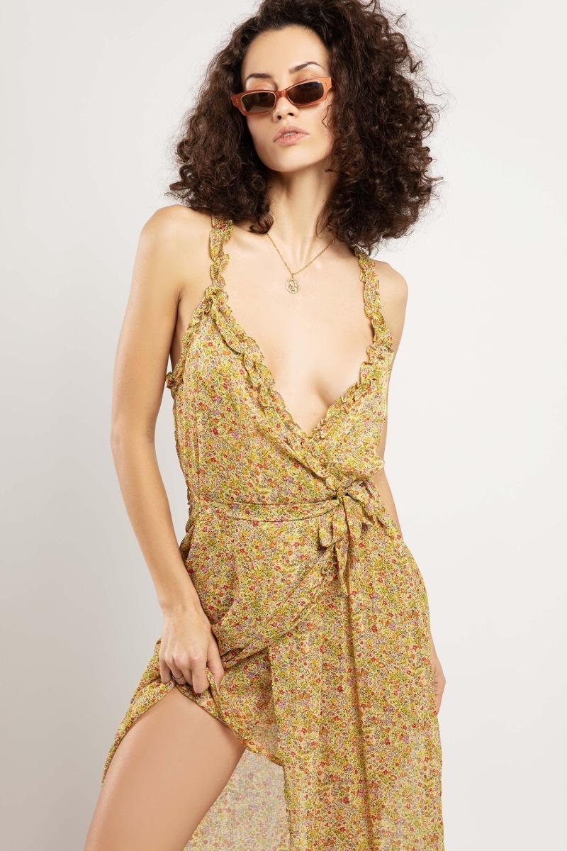 Vestido Bali Amarillo
