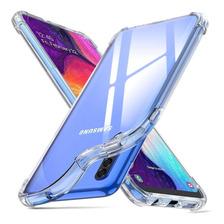 Funda Airbag Transparente P/ Samsung A30 A50 + Glass 5d