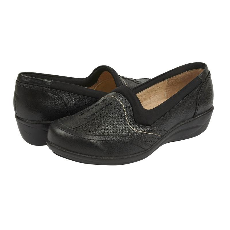 Sneakers negros con blanco 012805