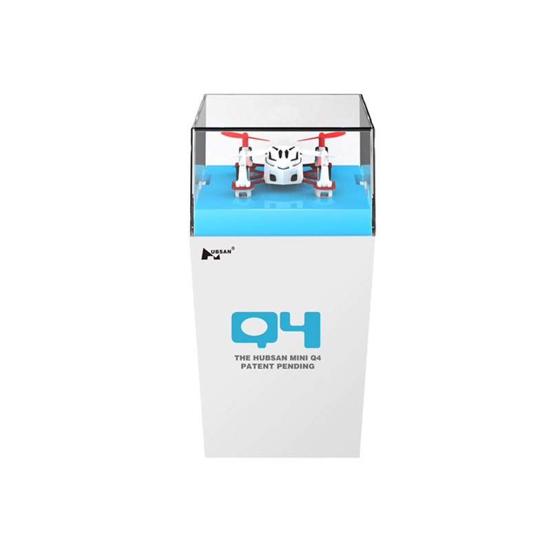 HUBSAN H111 Mini Q4 Box Plástico - BRANCO