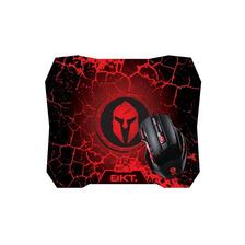 Combo Mouse 7d Gamer Bkt M45 + Pad Mouse Spartan Powerzon