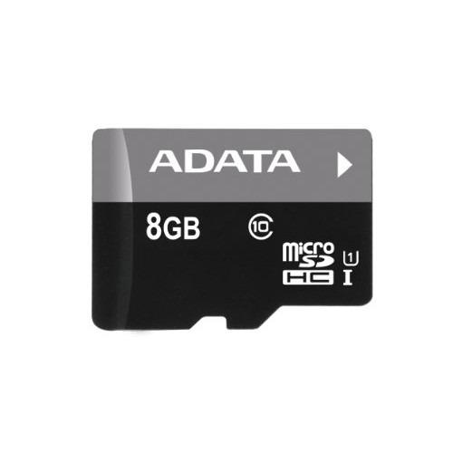Memoria Adata Micro Sd Hc 8gb Clase 10 + Adaptador Sd
