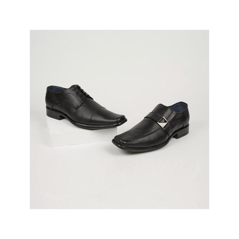 Combo zapato de vestir negro 008381