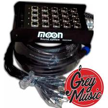 Moon Pachera Pach16430 16 Canales X4 Envíos C/ Cable 30