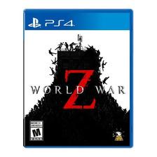 World War Z Ps4 Fisico Nuevo Original Sellado