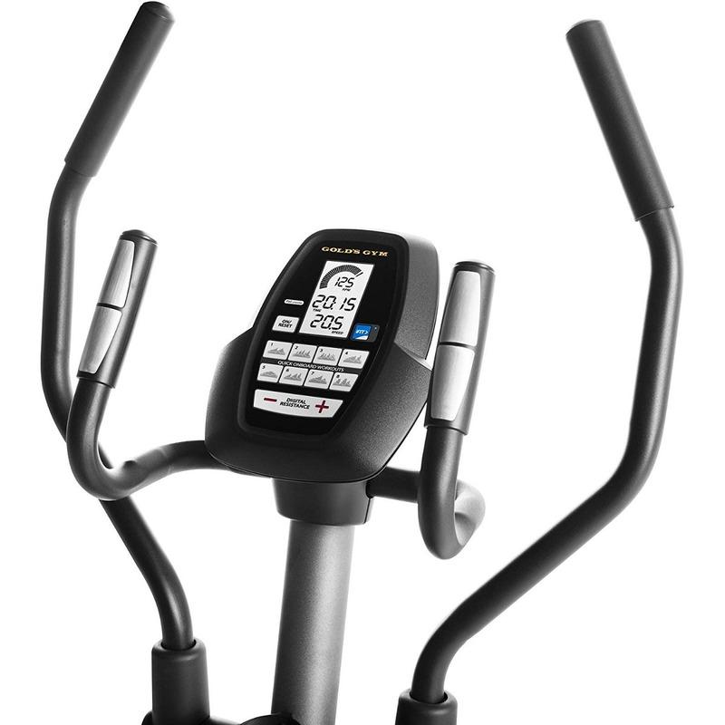 Elíptica Gold's Gym Stride Trainer 380 Usuario 110 Kg