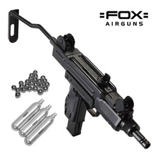Pistola Aire Comprimido Uzi Sub Machine Fox 4 5 Mm Potente