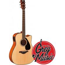 Guitarra Electroacústica Yamaha Fgx800c-nt Natural