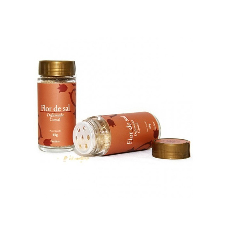 Flor de Sal Defumada - 65g - Cimsal