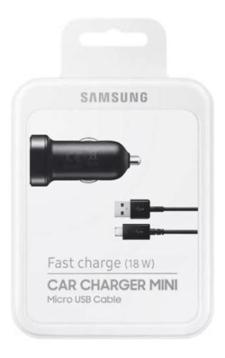 Cargador Auto Samsung Original Microusb Galaxy Plus Rapido
