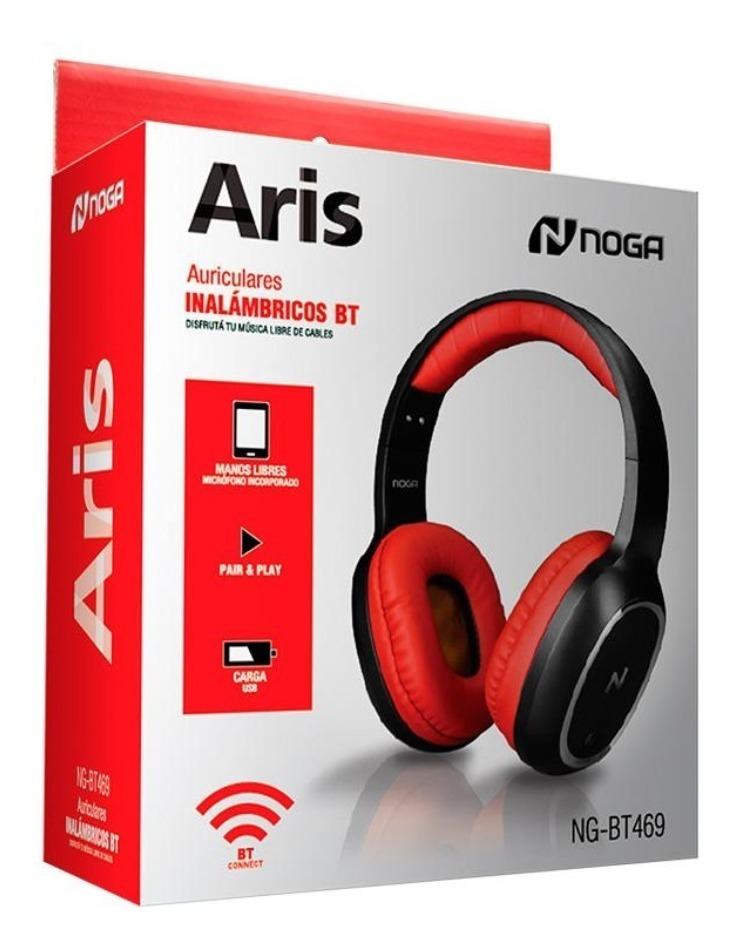 Auriculares Bluetooth Inalambrico Recargable Ng-bt469 Noga