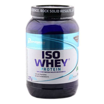 Iso Whey Protein Isolado (909 g) Performance - WY00076