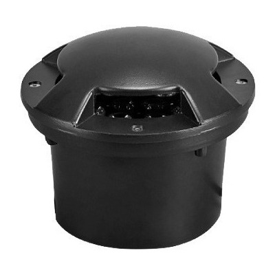 Embutido Piso Transitable Chester Led Ip44 220v Negro Deco