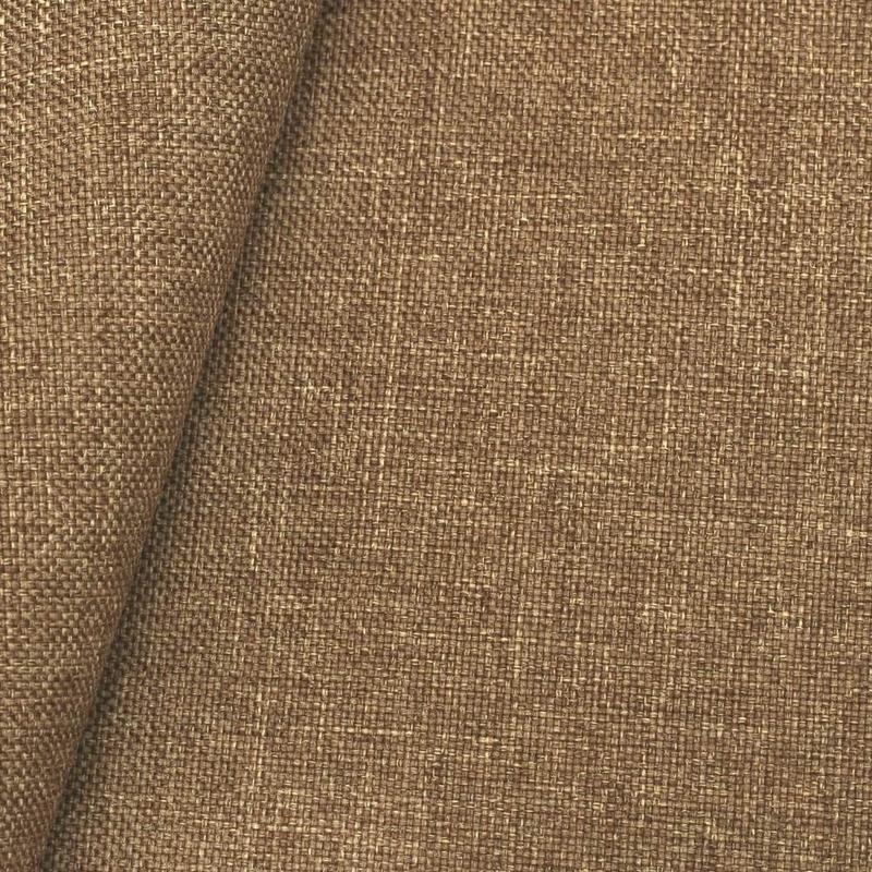 Tecido linho sintético mescla bege-marrom (05) Coleção New York IV