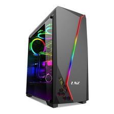 Gabinete Gamer Lnz Lz40 Lzcs20040 Mid Tower Pc Rgb