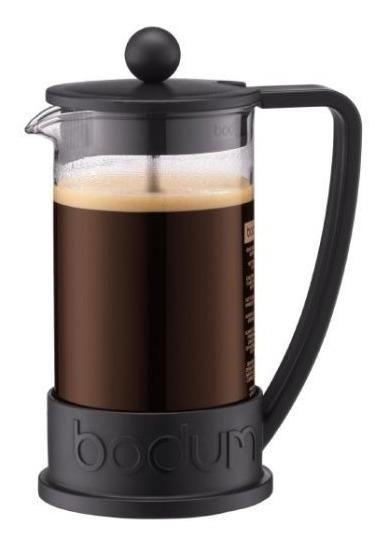 Cafetera Bodum Brazil Embolo 3 Pocillos Prensa Francesa 0.35