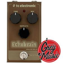 Pedal Tc Electronic Echobrain Analog Delay- Grey Music -