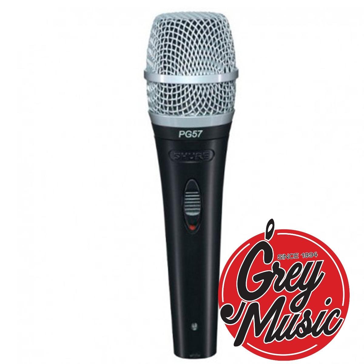 Micrófono Cardioide Dinámico Shure Pg57xlr