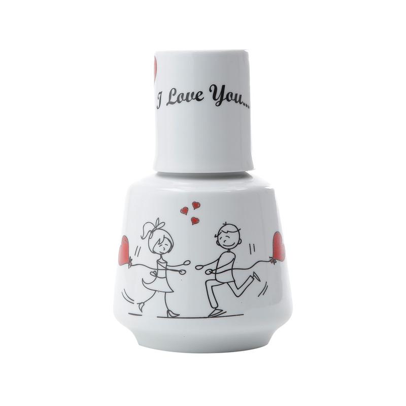 Moringa 750ml com Caneca 150ml Night/Love - Bon Gourmet 3102771