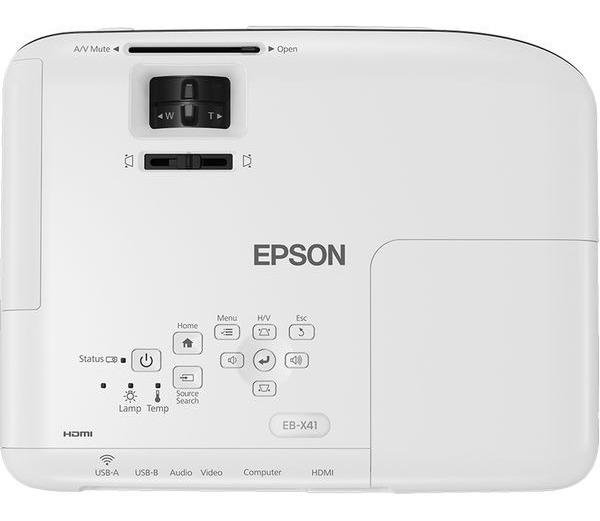 Proyector Epson Powerlite X41+ 3600 Lumenes Wifi Hdmi Xga