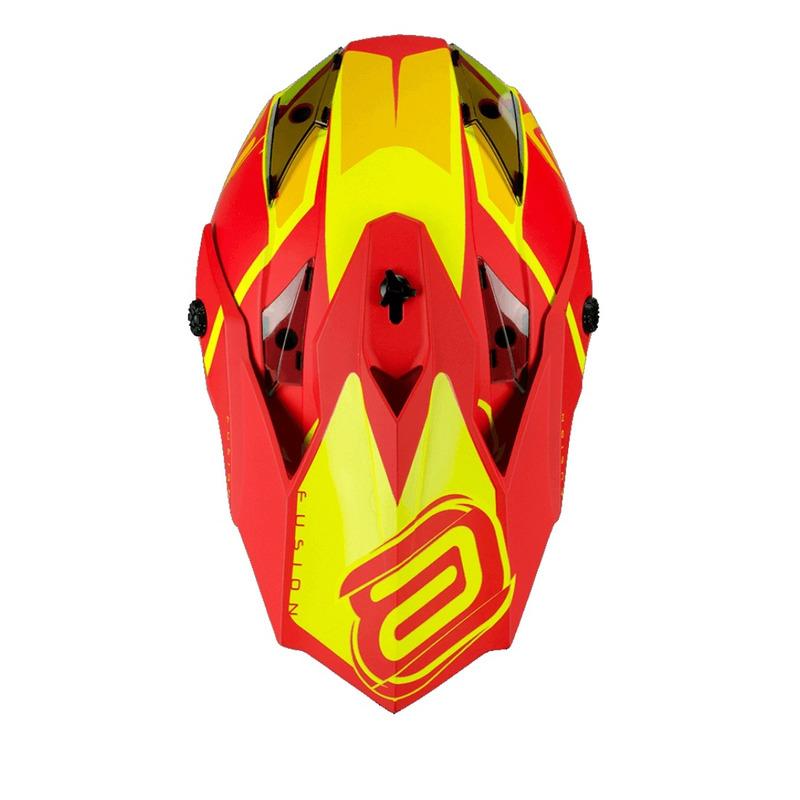 Capacete Moto ASW Fusion Brigade Off Road
