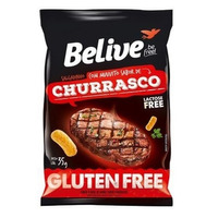 Snack de Arroz Sem Gluten Churrasco - 35g - Belive Be Free