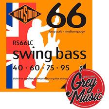 Encordado Rotosound Rs66lc Swing Bass Para Bajo 040-095