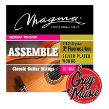 Encordado Magma Gc110a Para Guitarra Clasica Medium Tension