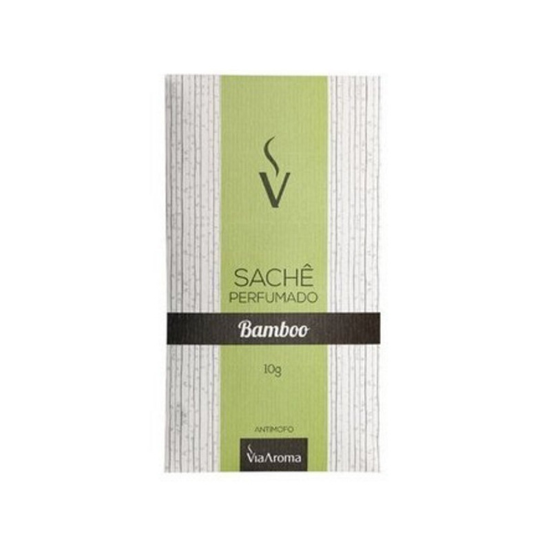 Sache Perfumado - Aroma Bamboo - 10g - Via Aroma
