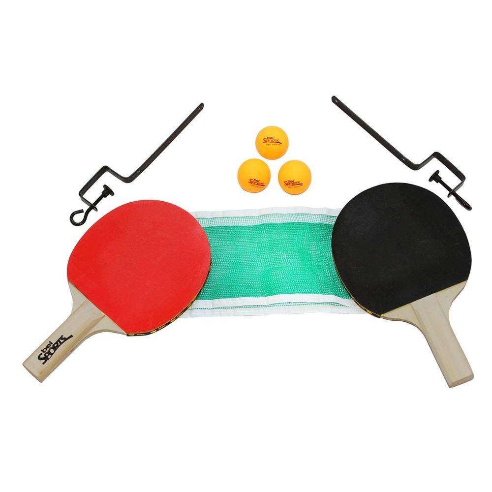 55cd85bb8 ... Kit Tenis de Mesa 2 Raquetes 3 Bolas e Rede Bel Sports ...