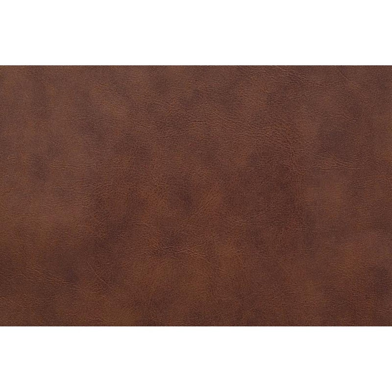 Tecido couro sintético fit modena marrom whisk cleveland