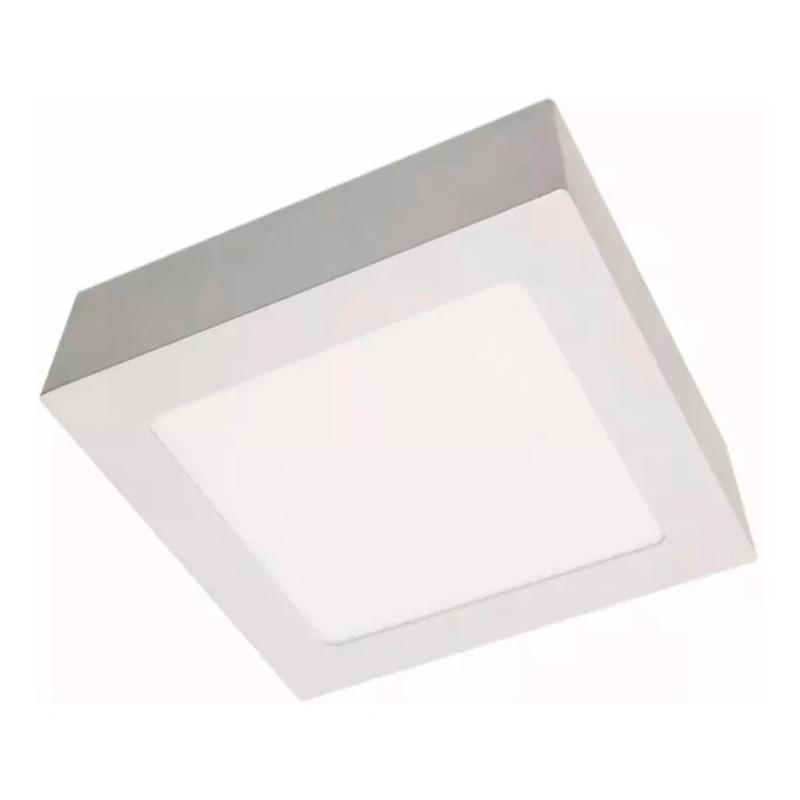 Panel Plafon Cuadrado Led 12w Calido Y Frío Luz Desing