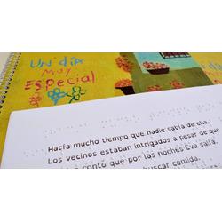 Libro Braille - Un día muy esp...