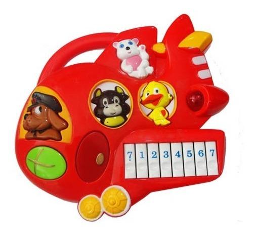 Juego Didactico Piano Luz Notas Melodias Sonido Animales