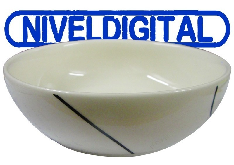 Compotera Cazuela Corona Porcelana Decorada 17 Cm Diámetro